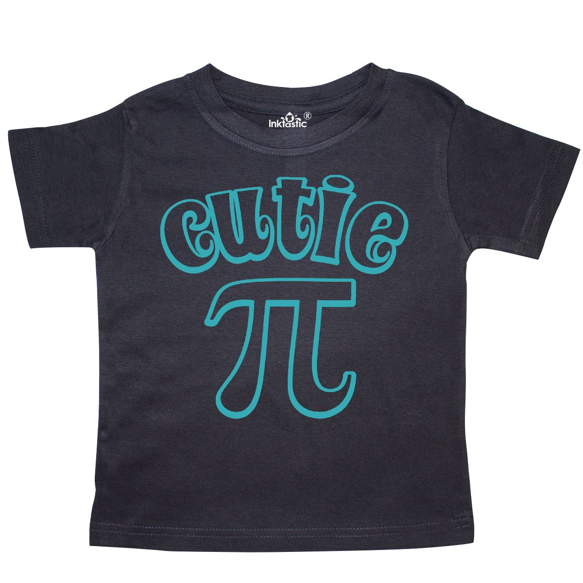 Inktastic Cutie Pi Toddler T-Shirt Nerd Geek Funny Pie Baby Laughs Humor Gift
