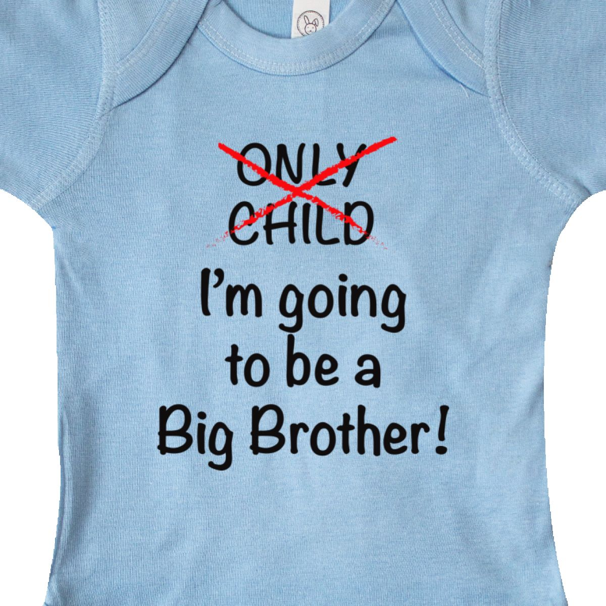 Inktastic I/'m Going To Be A Big Brother Infant Creeper Only Child Expiring Cute