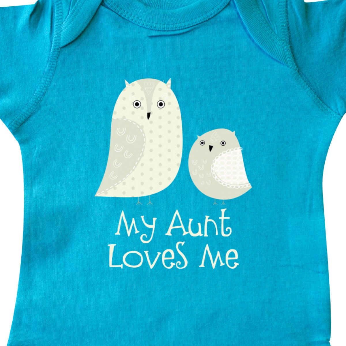 Inktastic Aunt Loves Me Owls Infant Creeper From Family Cute Childs Kids I Love