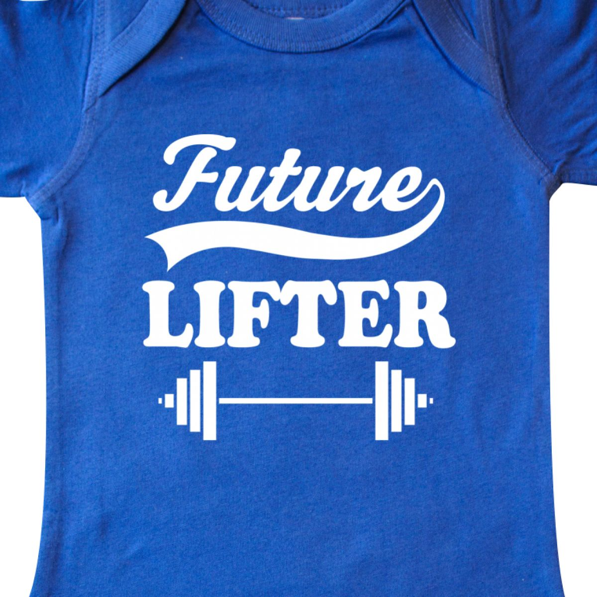 Inktastic Future Lifter Weightlifting Infant Creeper Weightlifter Lifting Sports