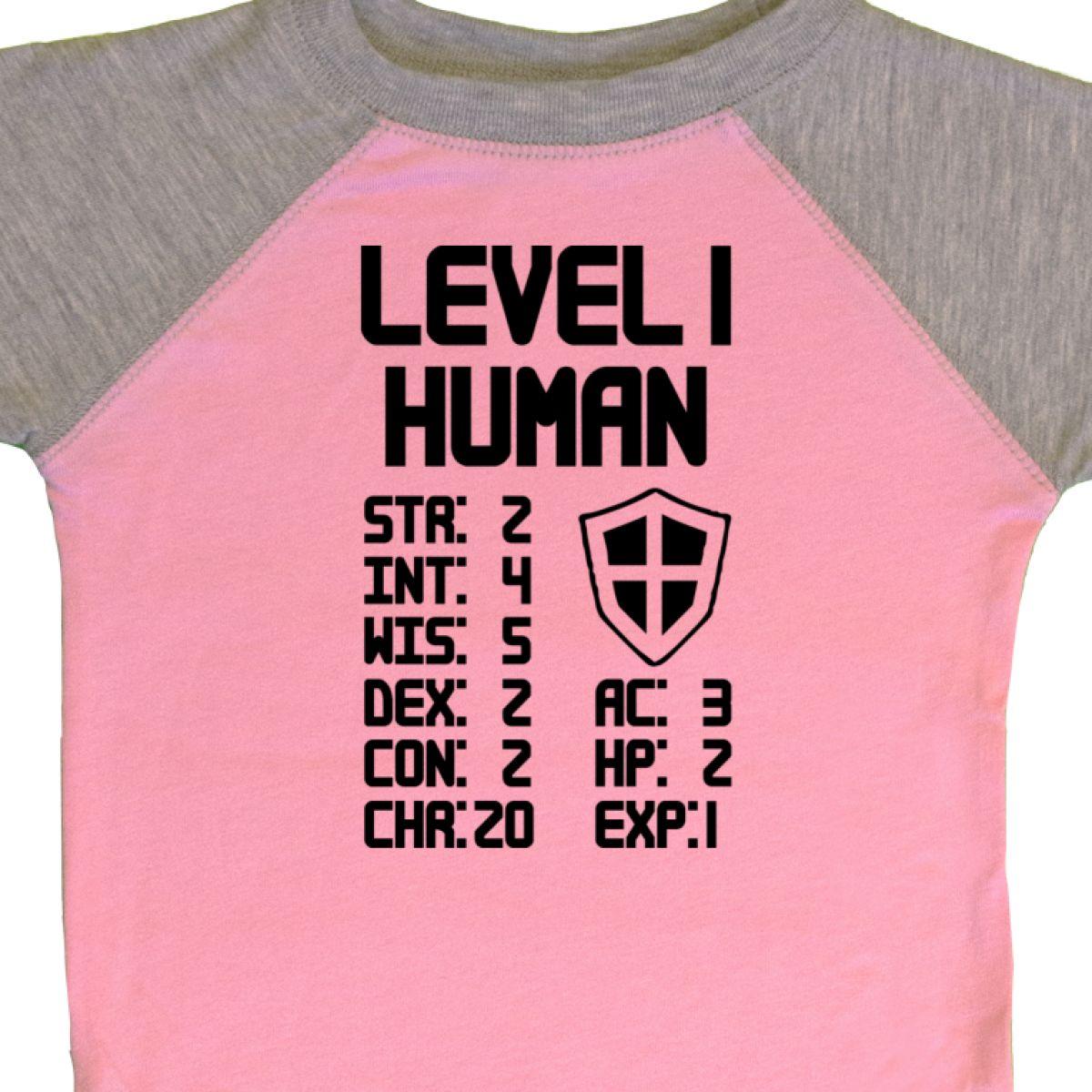 Inktastic Level 1 Human Infant Creeper Pop Culture Gamer Video Games Game Funny