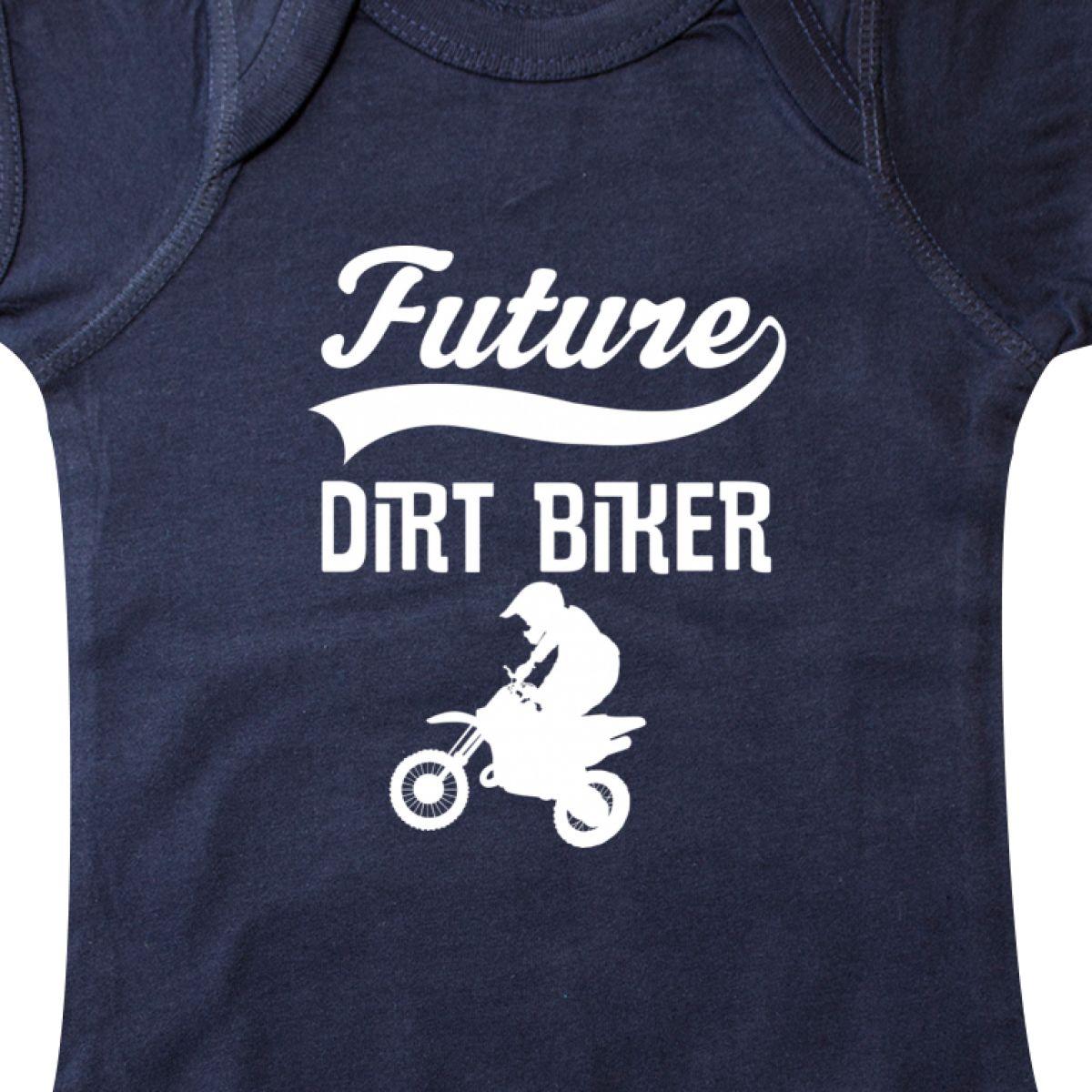 Inktastic Future Dirt Biker Off Road Sports Infant Creeper Biking Motorcycle Job