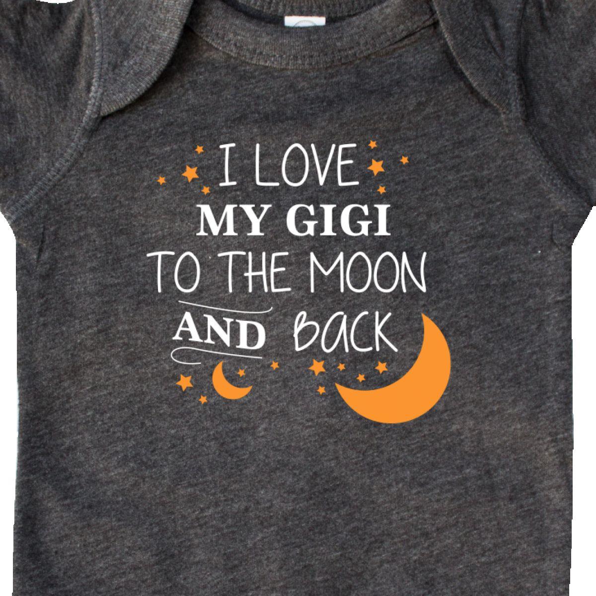 Inktastic I Love My Gigi To The Moon And Back Infant Creeper Family You Grandma
