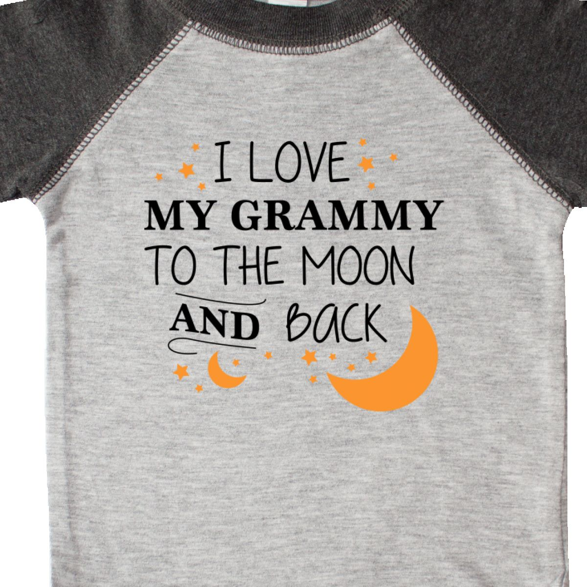 Inktastic I Love My Grammy To The Moon And Back Infant Creeper Family You Granny