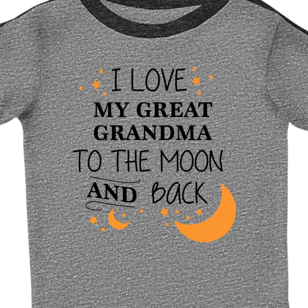 Inktastic I Love My Great Grandma To The Moon And Back Infant Creeper Family You