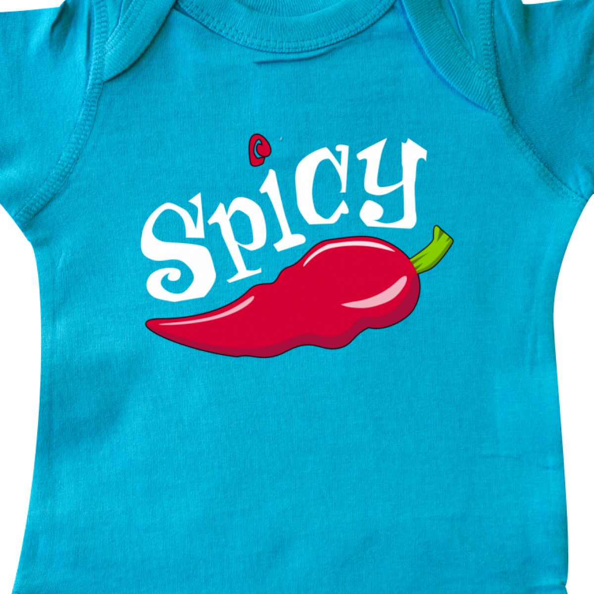 Inktastic Spicy Hot Chili Pepper Infant Creeper Cuisine Mexican Mexico Holiday