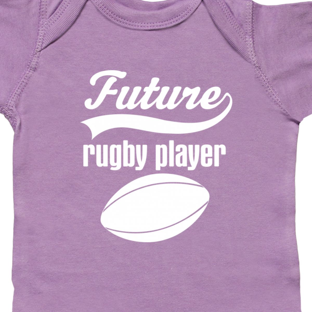 Inktastic Future Rugby Player Infant Creeper Sports Ball Cute Childs Football