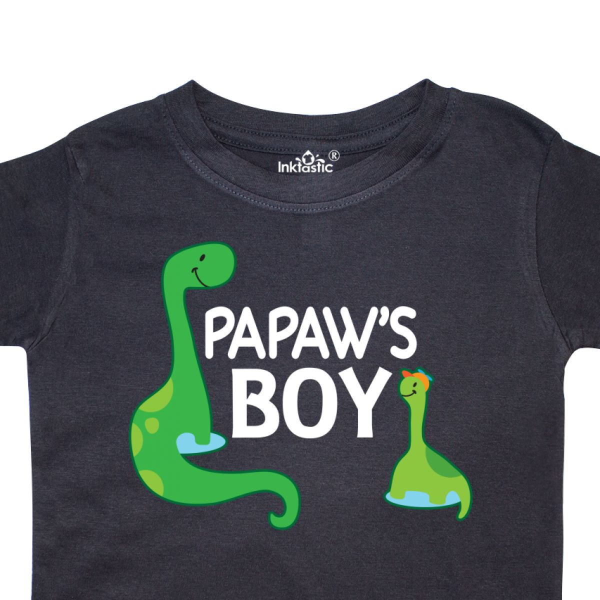 Inktastic Papaw/'s Boy Grandson Gift Toddler T-Shirt Papaw Boys Dinosaur Dino Kid