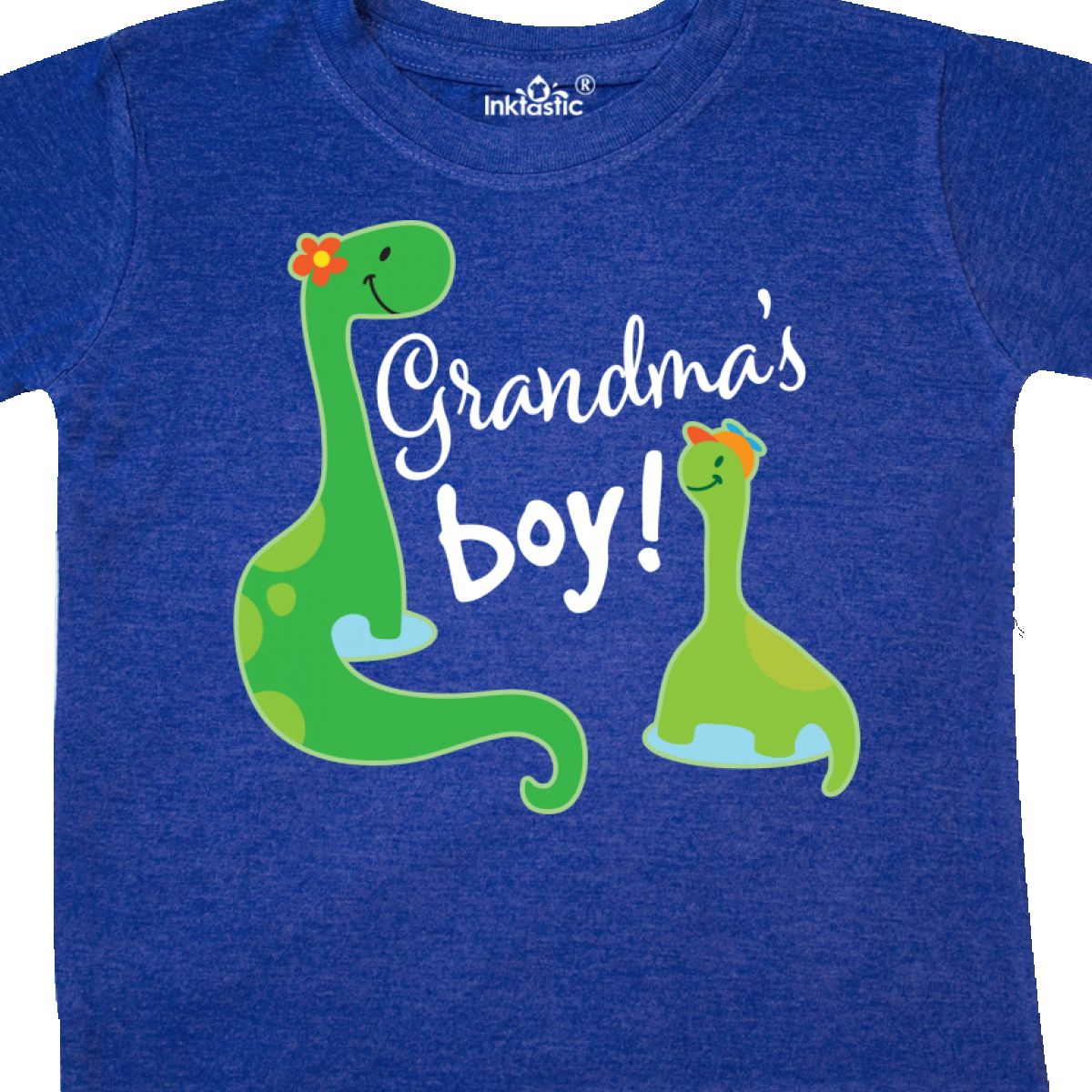 Inktastic Grandmas Boy Grandson Dinosaur Gift Toddler T-Shirt Grandma Childs Kid