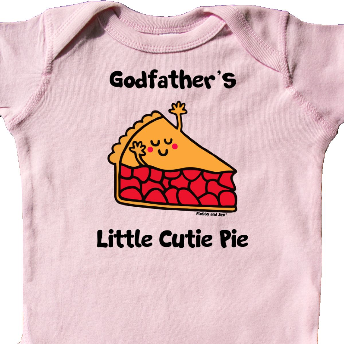 Inktastic Godfather/'s Little Cutie Pie Infant Creeper Cute Kids Youth Cherry Opa