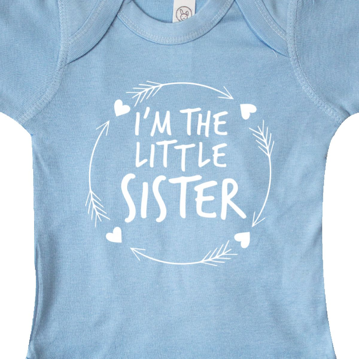 Inktastic I/'m The Little Sister Infant Creeper Siblings Sibling Family Girl New