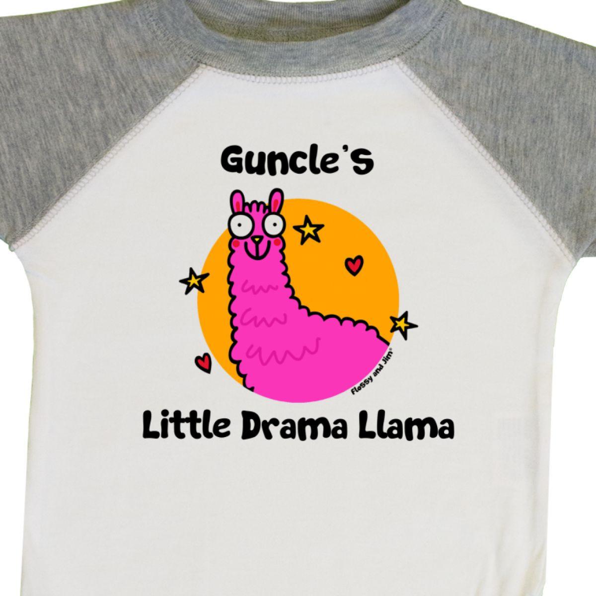 Inktastic Guncle/'s Little Drama Llama Infant Creeper Kids Trend Guncle One-piece
