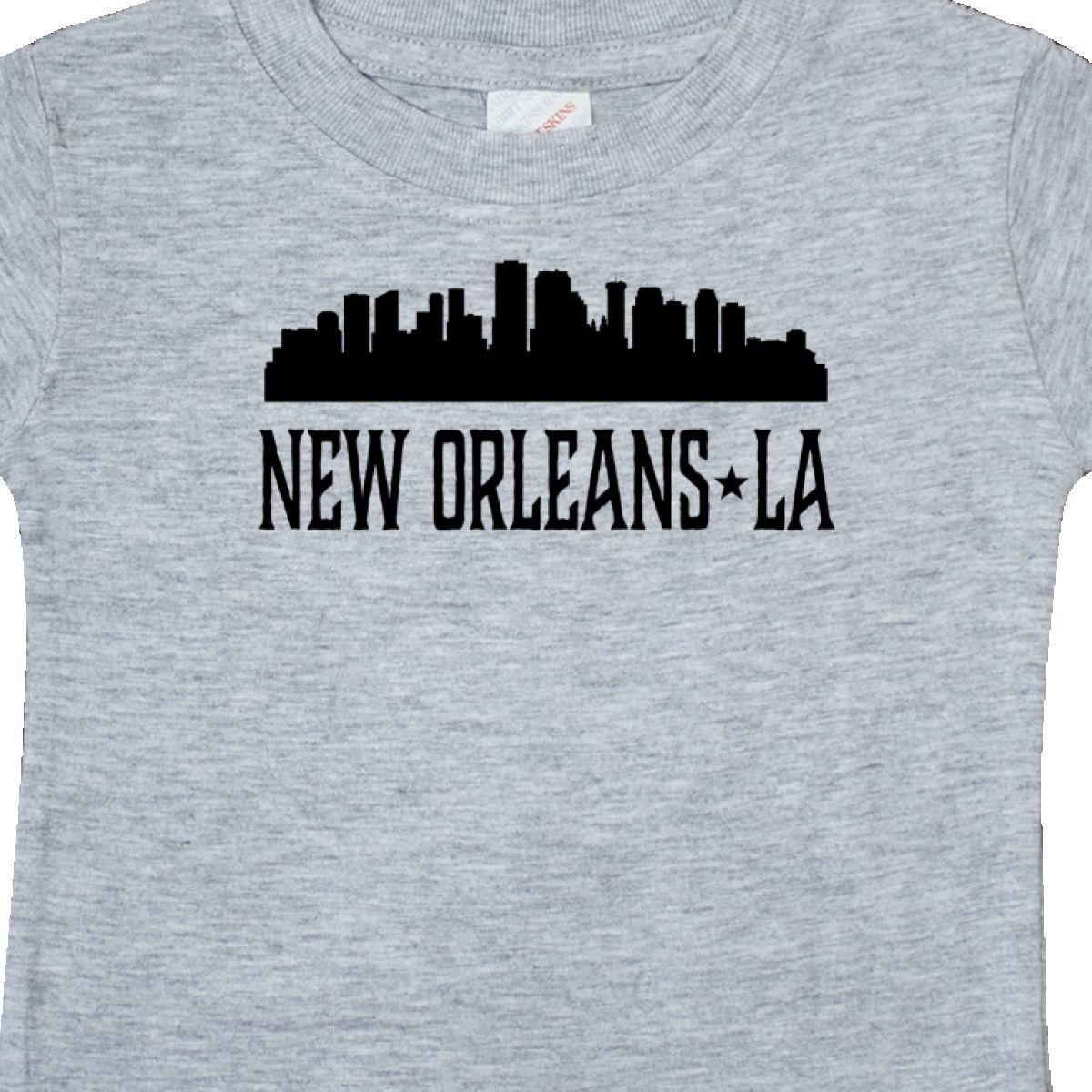 Inktastic New Orleans Louisiana Skyline Baby T-Shirt Souvenir Silhouette City U