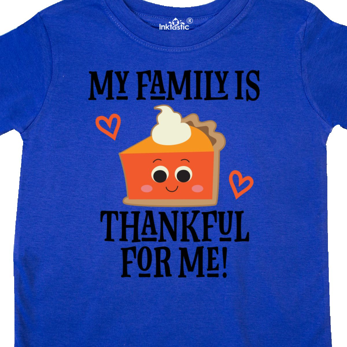 Inktastic Thanksgiving Outfit Thankful Family Toddler T-Shirt 1st Babys First