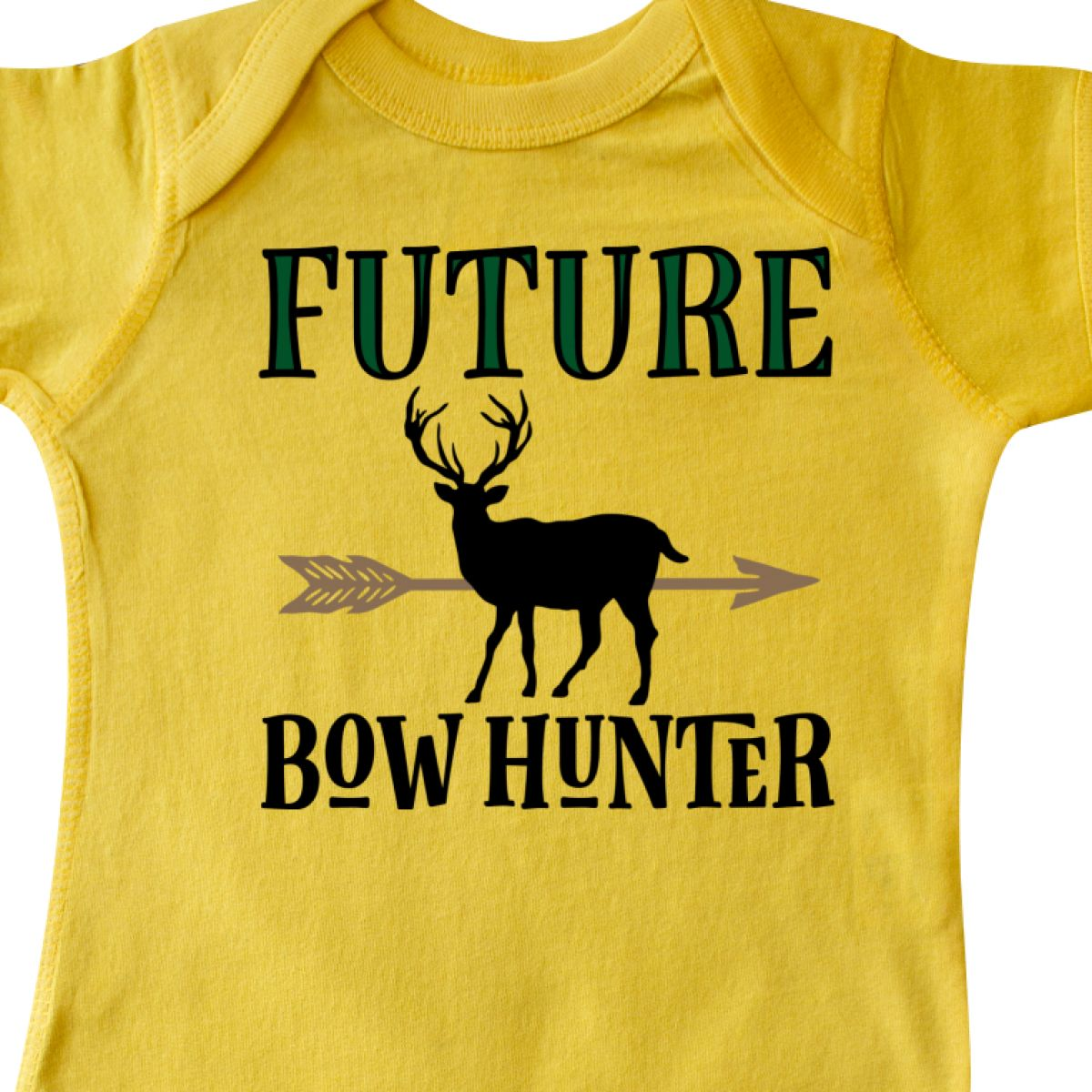 Inktastic Hunting Future Bow Hunter Infant Creeper Deer Childs Boys Outdoors Hws