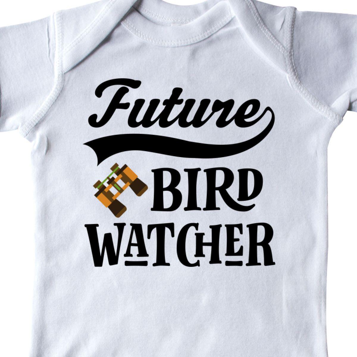 Inktastic Future Bird Watcher Bird Watching Infant Creeper Birds Childs Job Kids