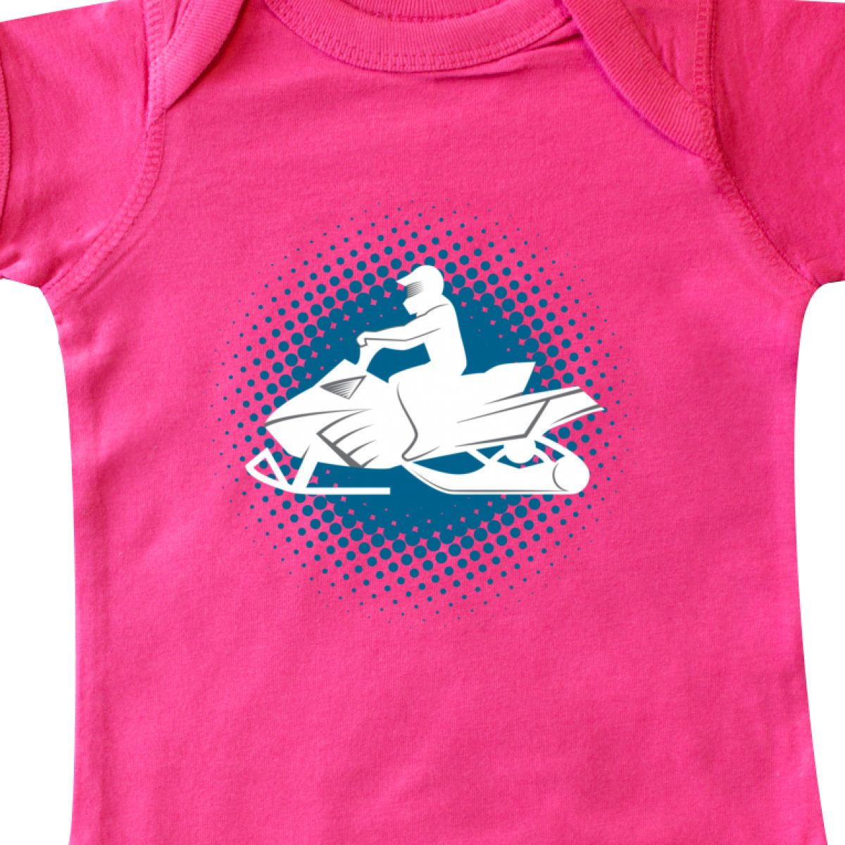 Inktastic Snowmobile Winter Extreme Sports Infant Creeper Snow Riding Apparel