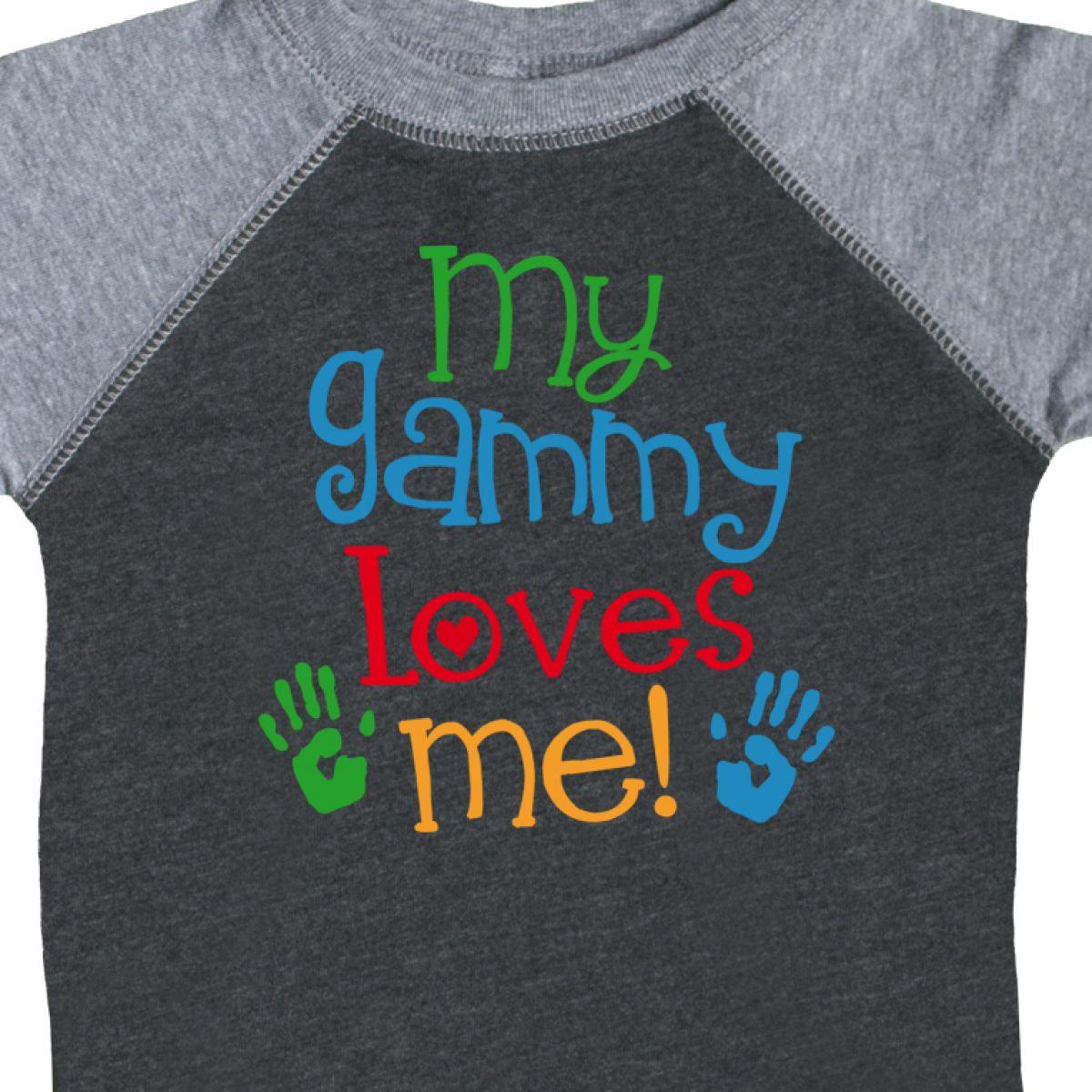 Inktastic My Gammy Loves Me Gift Infant Creeper Boys Girls Grandchild Grandson