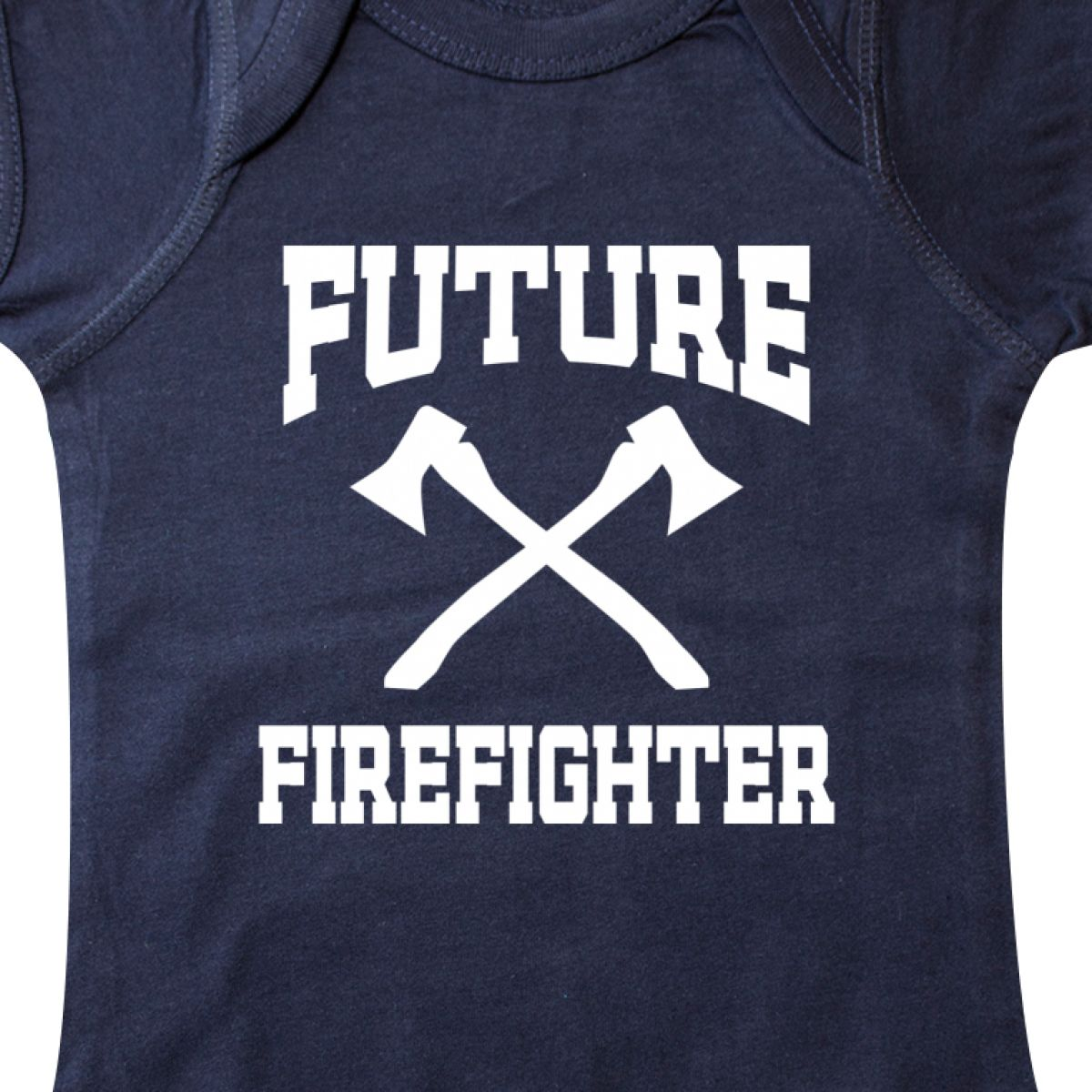 Inktastic Future Firefighter Infant Creeper Fire Chief Firefighting Girls Boys