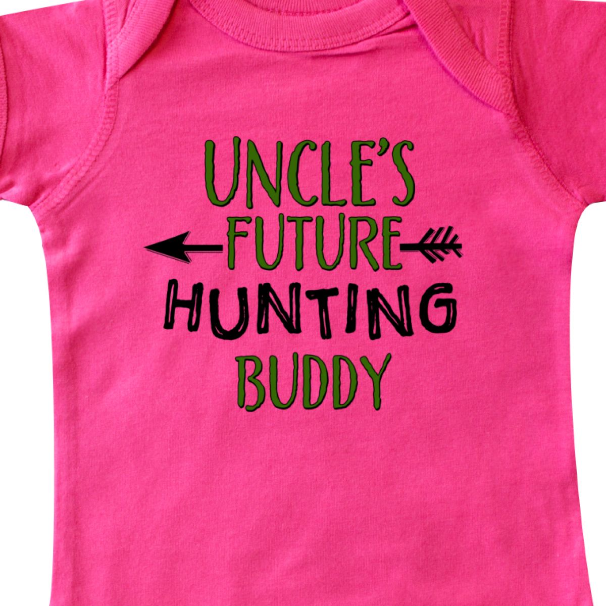 Inktastic Uncles Future Hunting Buddy Infant Creeper Family Uncle Kid Hunter