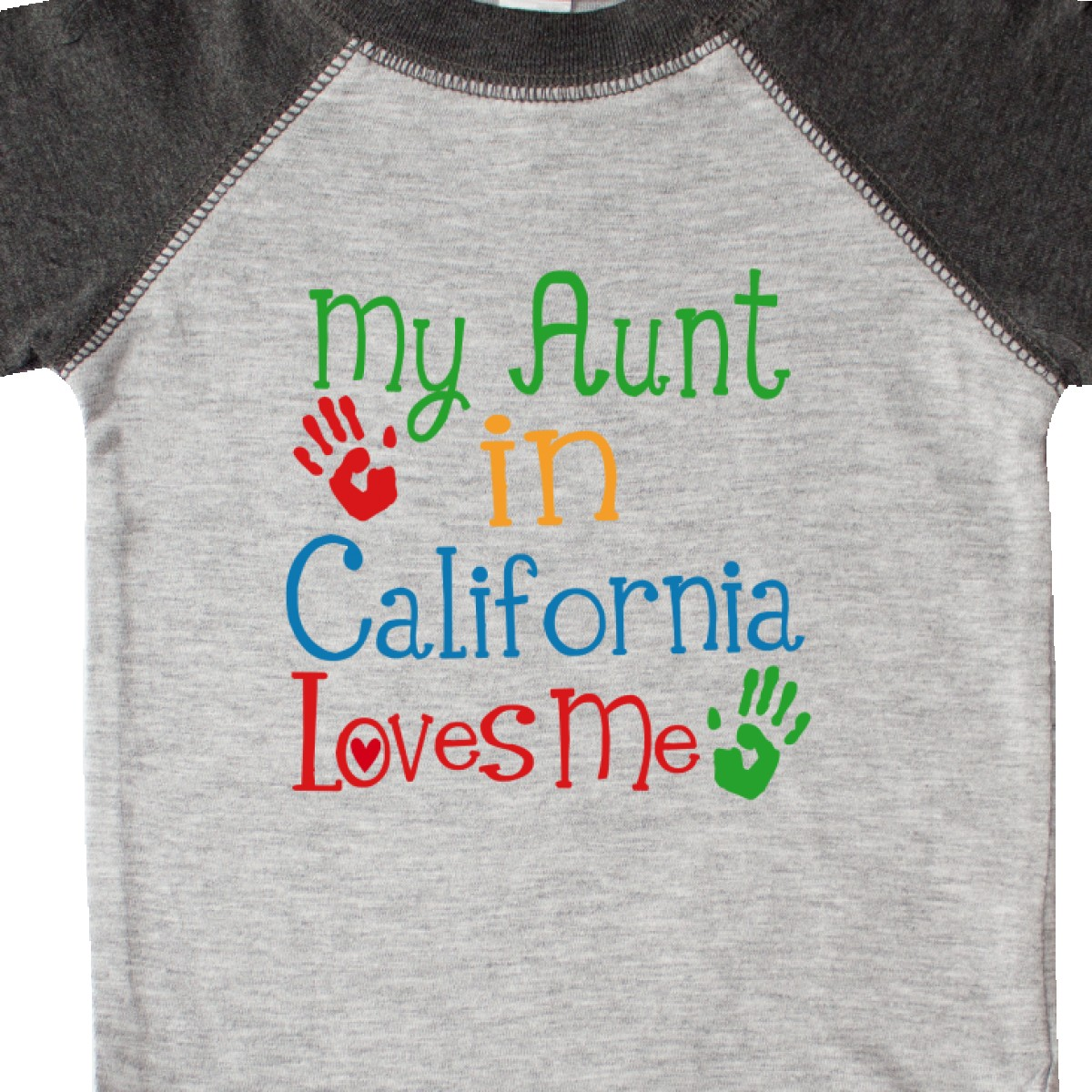 Inktastic My Aunt In California Loves Me Infant Creeper Childs Girls Boys Auntie
