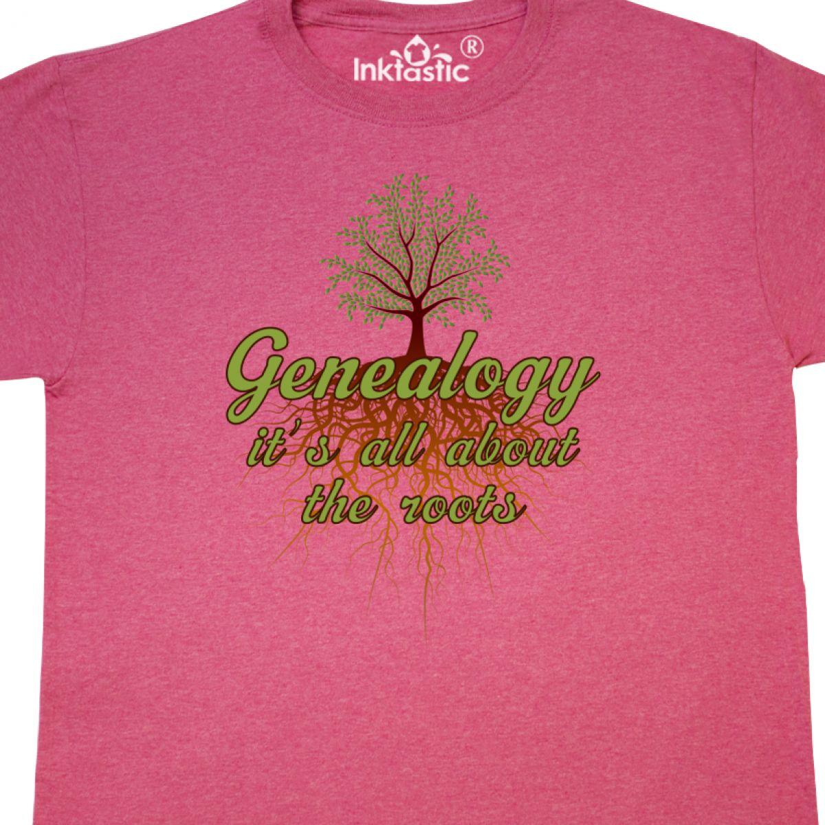 Inktastic Genealogist Gift Family Tree T-Shirt Genealogy History Historian Hobby