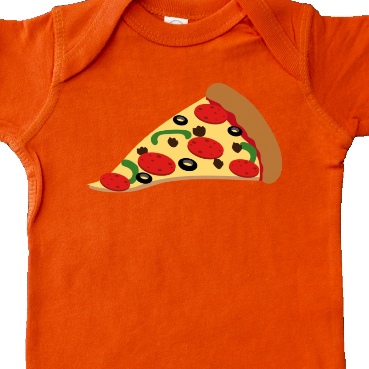 Inktastic Pizza Slice Infant Creeper Pepperoni Food Snack Funny Italian Chef Hws