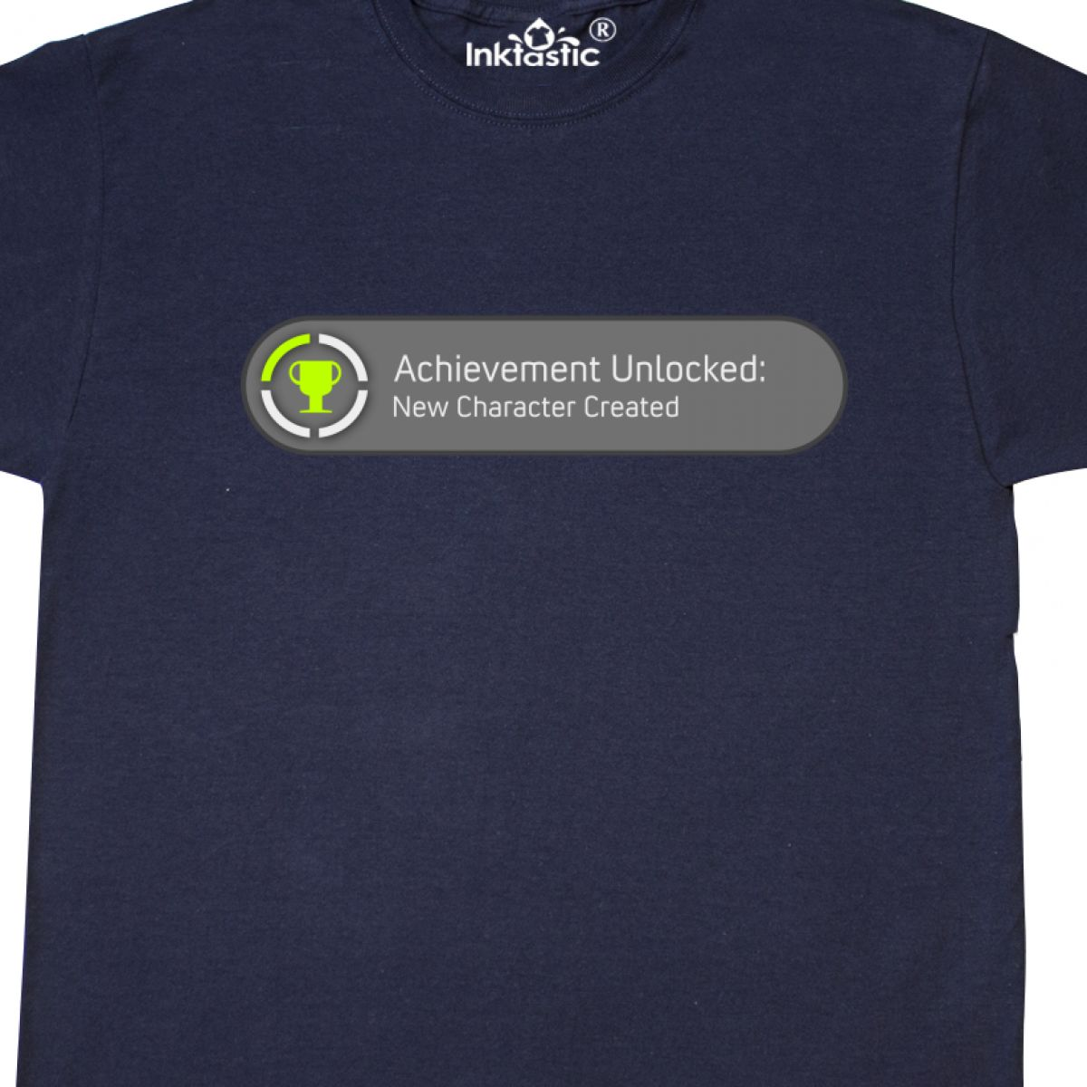 Inktastic Achievement Unlocked New Character Created T-Shirt Funny Baby Laughs