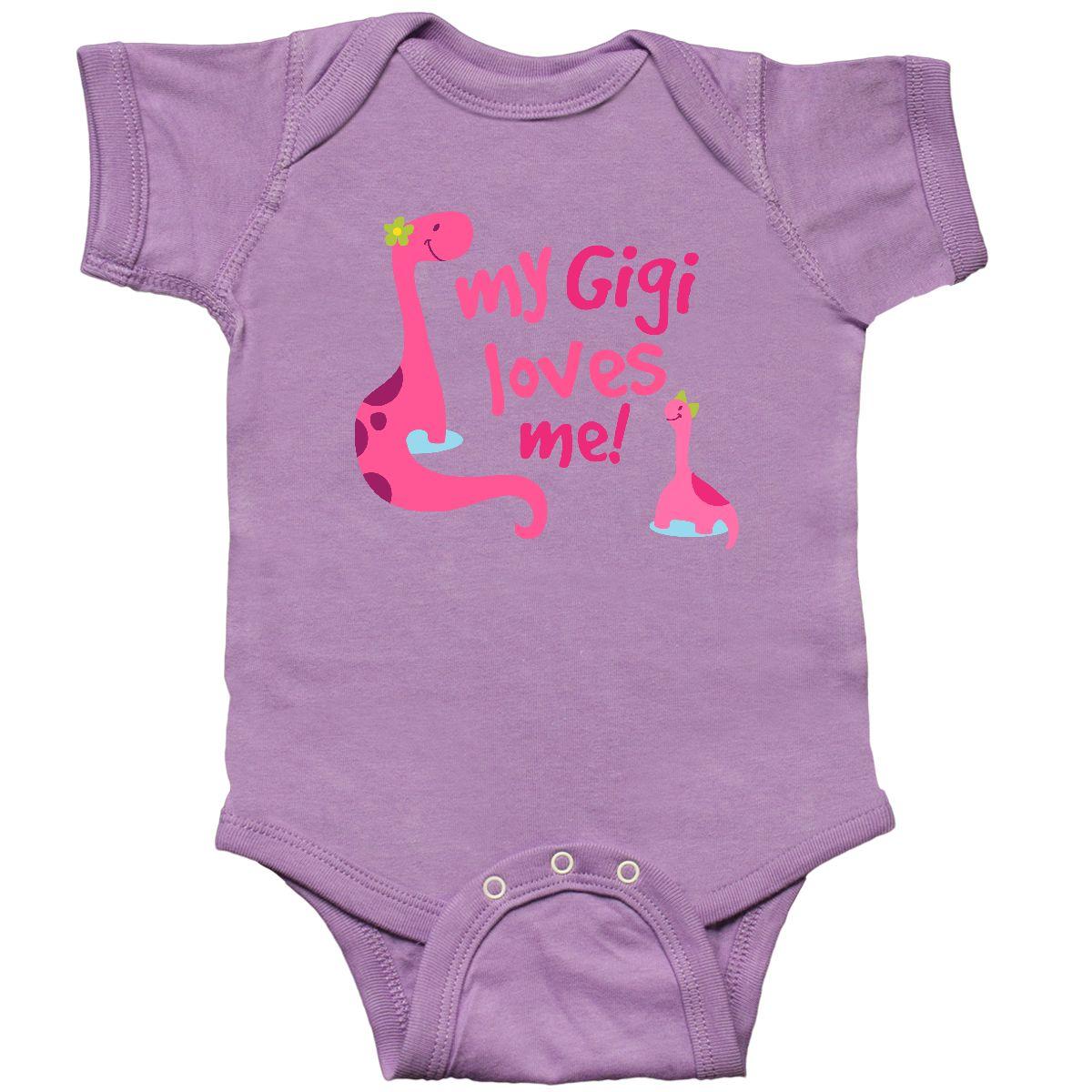 Inktastic My Gigi Loves Me Girls Granddaughter Toddler T-Shirt Grandkids Family