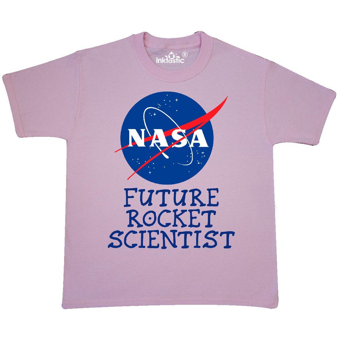 Inktastic Nasa Future Rocket Scientist Youth T Shirt Baby Shower