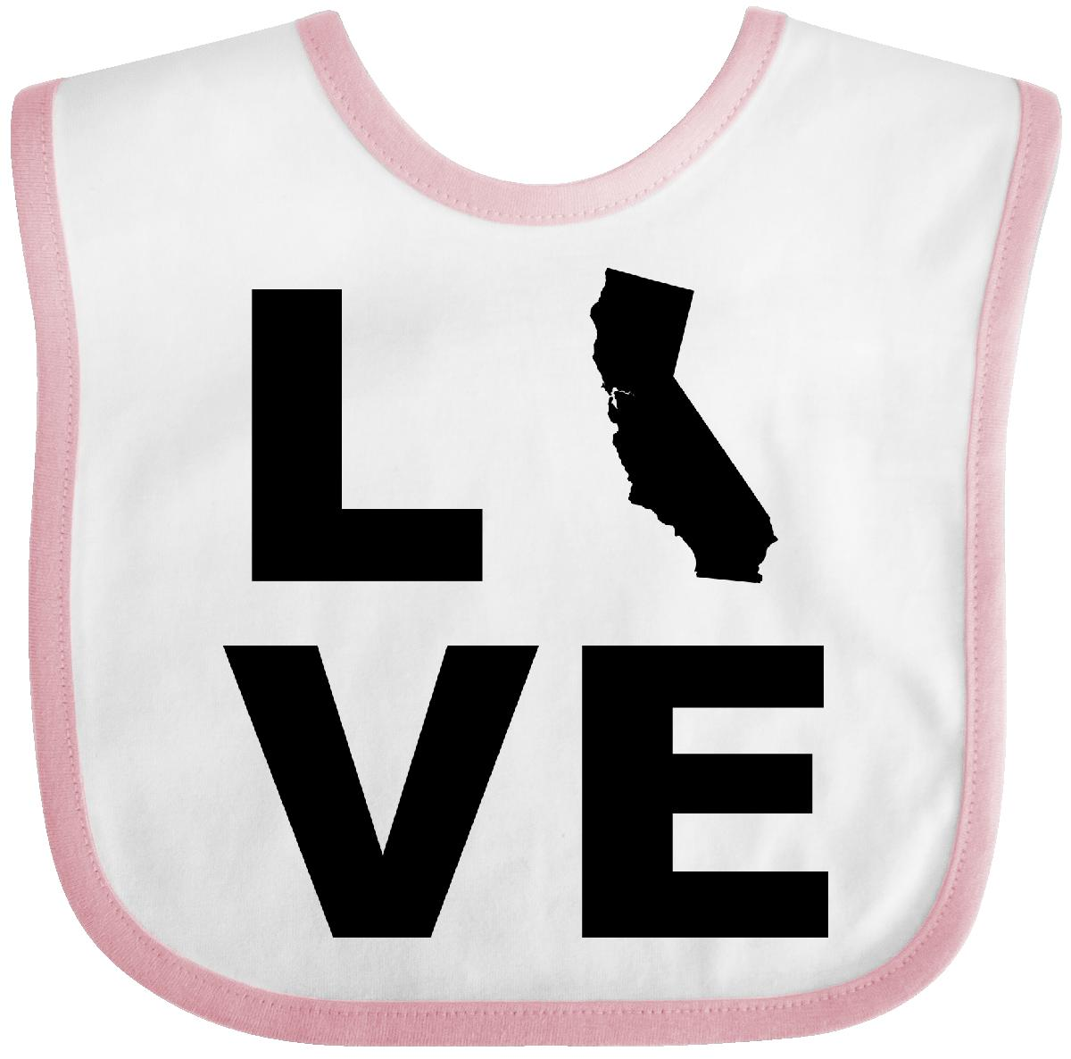 Inktastic-Love-California-Baby-Bib-State-Support-Gift-Usa-America-Clothing