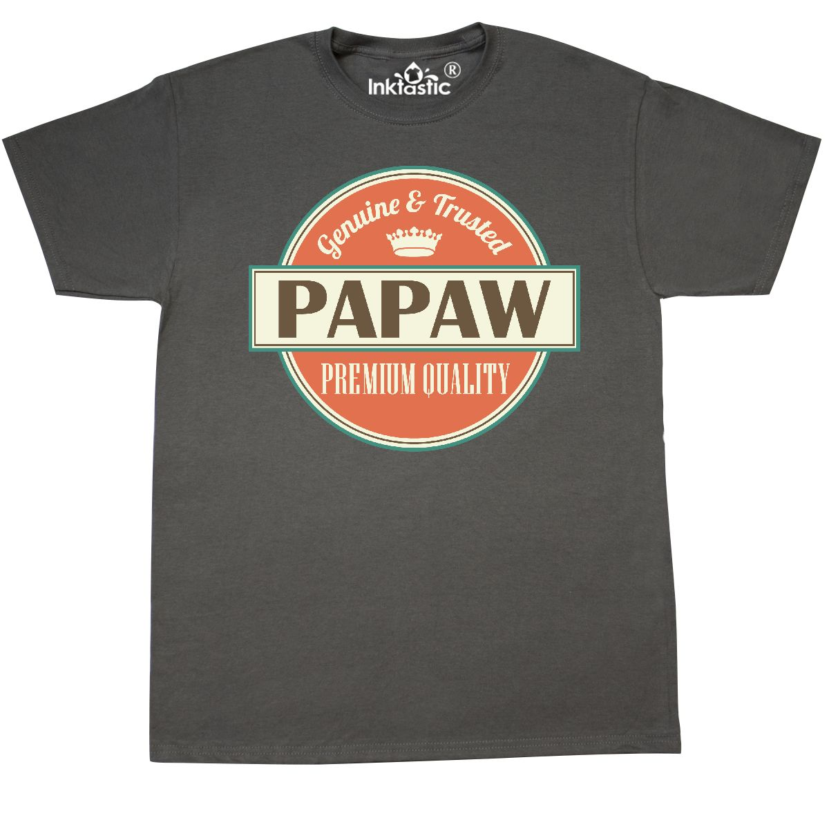 Inktastic-Papaw-Grandpa-Fathers-Day-T-Shirt-Mens-Gift-For-Him-Vintage-Adult-Tees