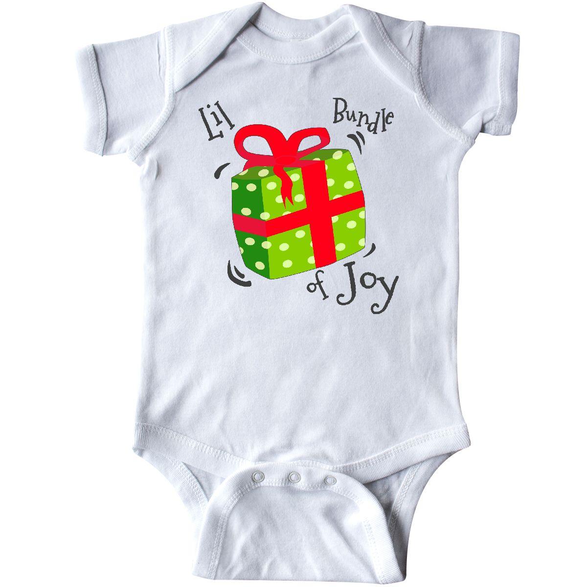 INKtastic Lil Bundle of Joy Infant Creeper Christmas Holiday Gift ...