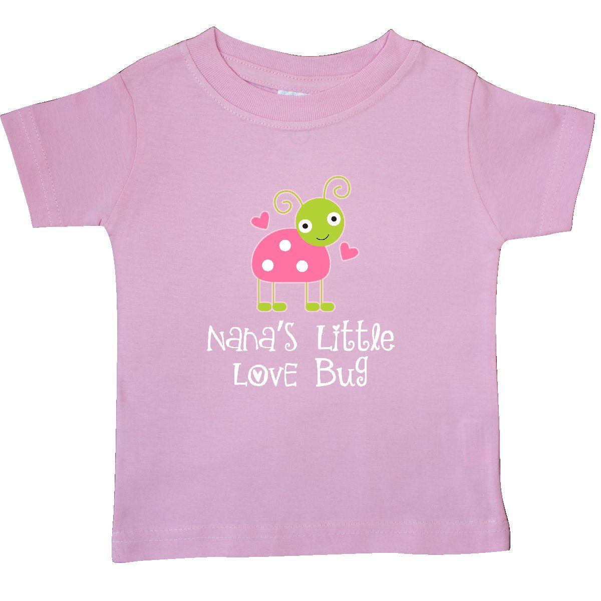 inktastic nana valentines day ladybug grandchild baby t