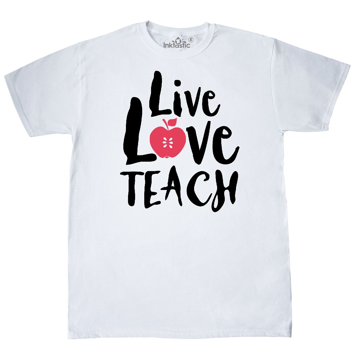 inktastic Live Love Read Toddler T-Shirt