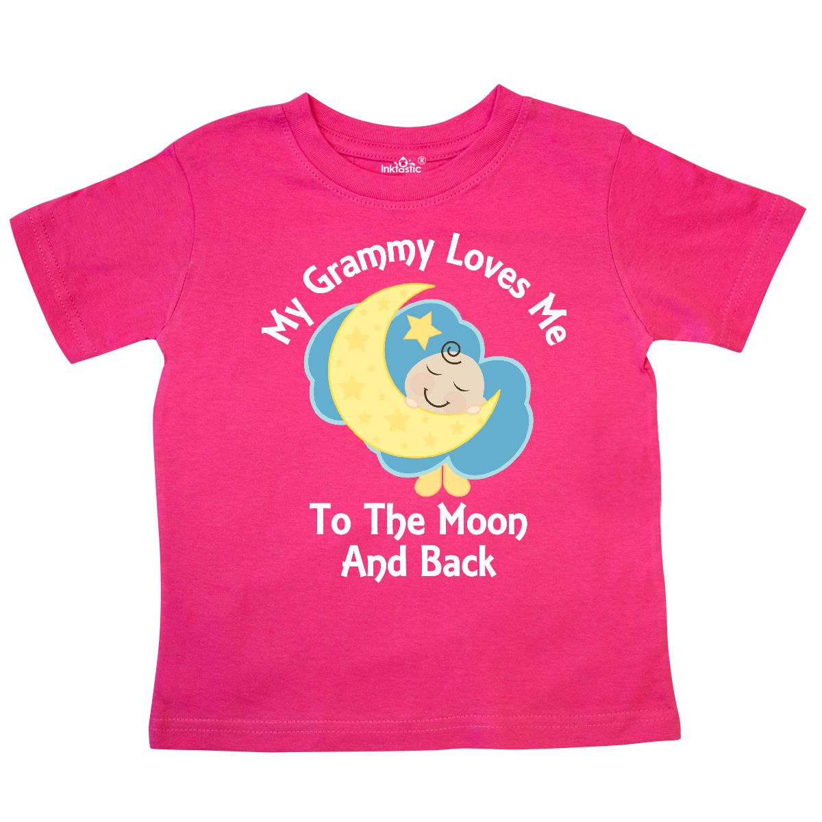 Inktastic Grammy Loves Me Grandchild Gift Toddler T-Shirt From Grandkids Cute