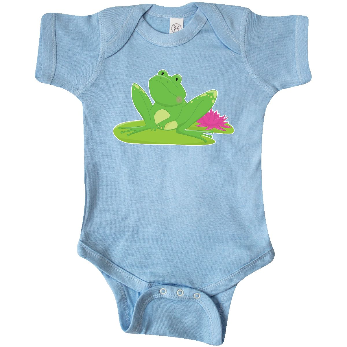 Inktastic Frog On A Lilypad Infant Creeper Lily Pad Toadally Cool ...