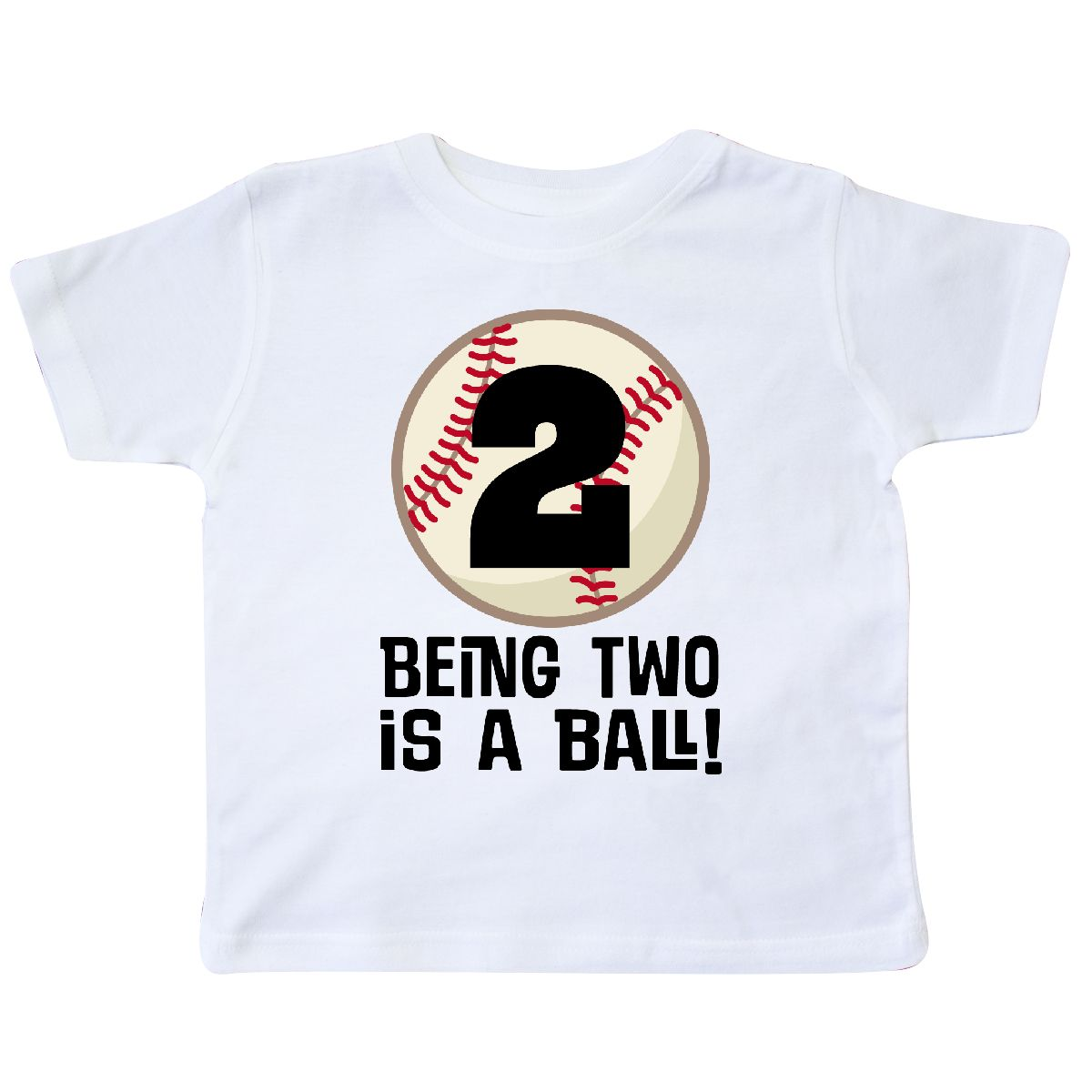Inktastic 2nd Birthday Baseball 2 Year Old Boy