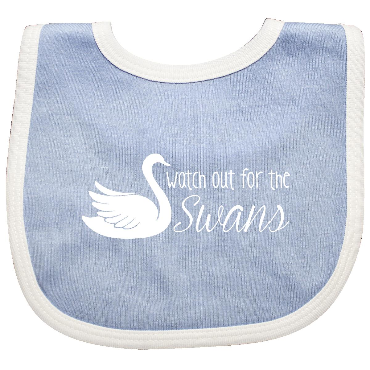 Inktastic-Watch-Out-For-Swans-Baby-Bib-Jess-Rory-Pop-Culture-Luke-Lorelai-Gift