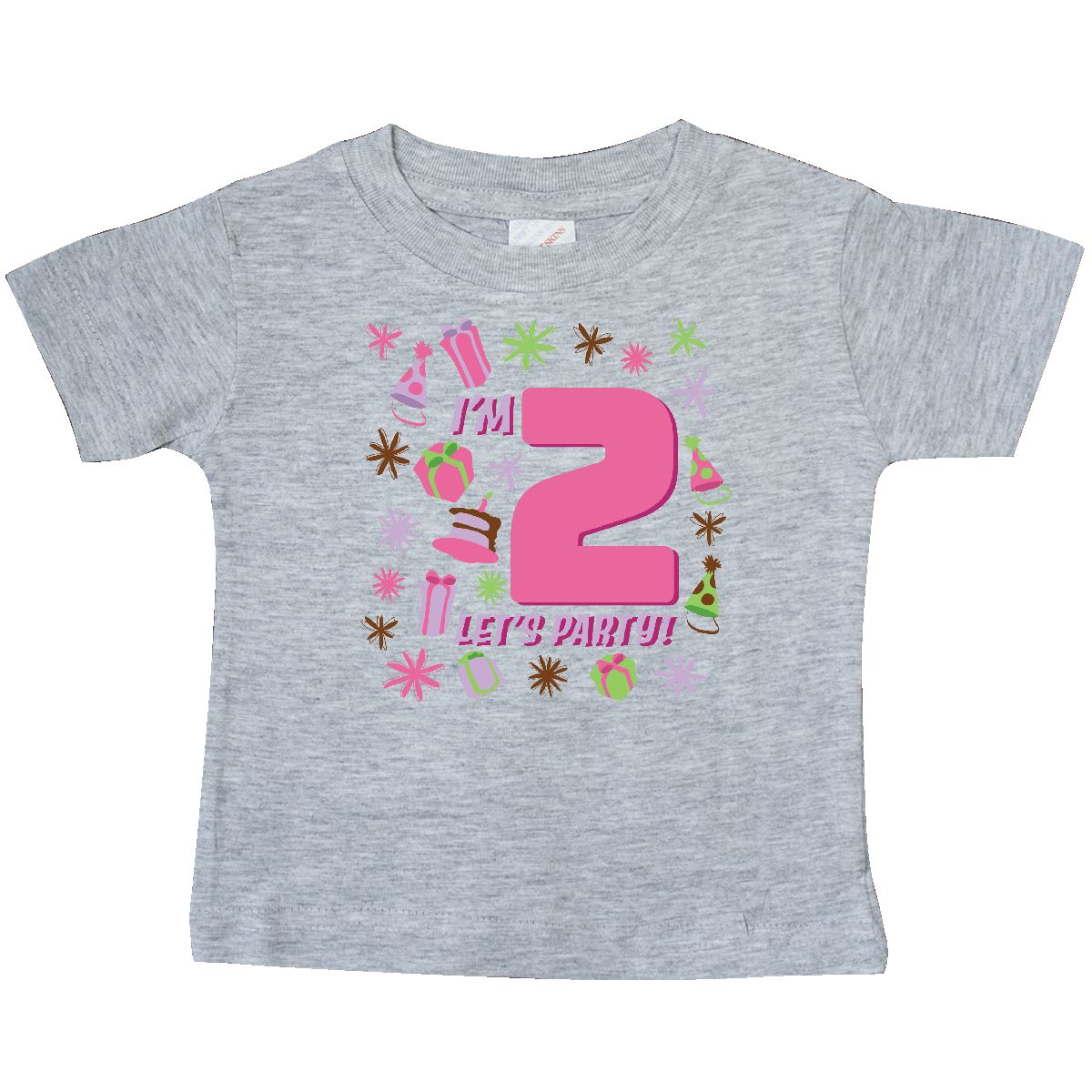 TooLoud Its My Birthday Candy Colored Dots Toddler T-Shirt