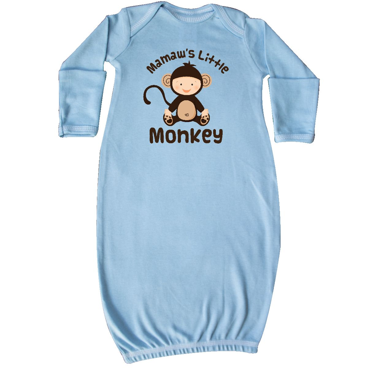 Inktastic Mimi Little Monkey Grandchild Infant Creeper Mimis From Grandson Cute