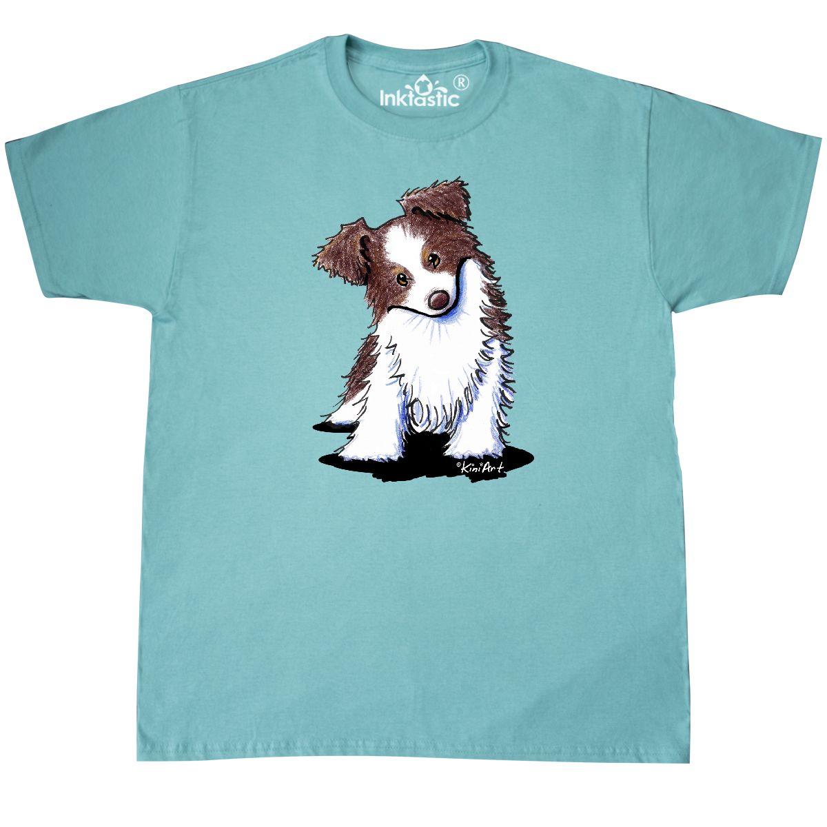 Inktastic-Australian-Shepherd-T-Shirt-KiniArt-Aussie-Puppy-Red-Sheepdog-Dog