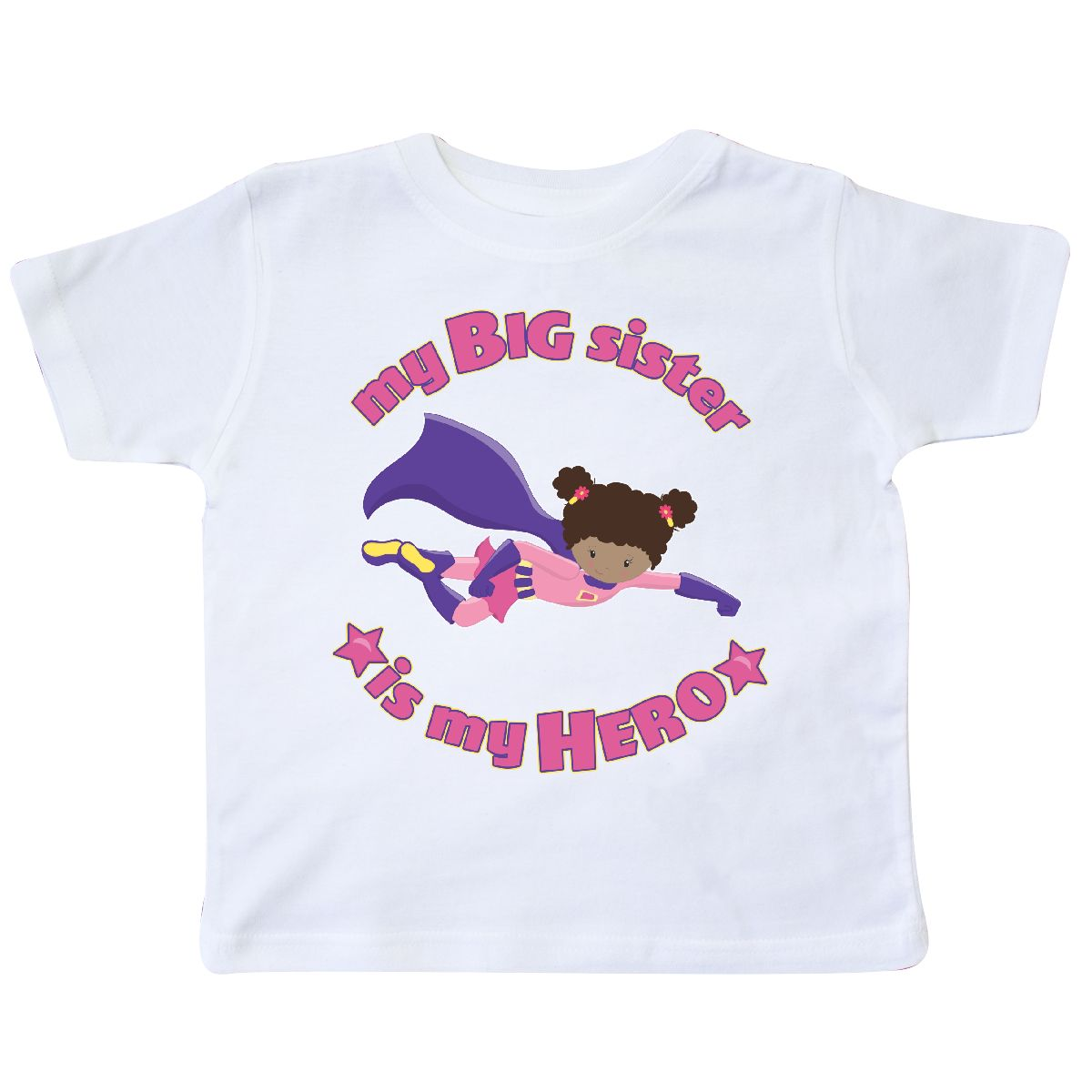 inktastic Loved by My Big Sis Toddler T-Shirt