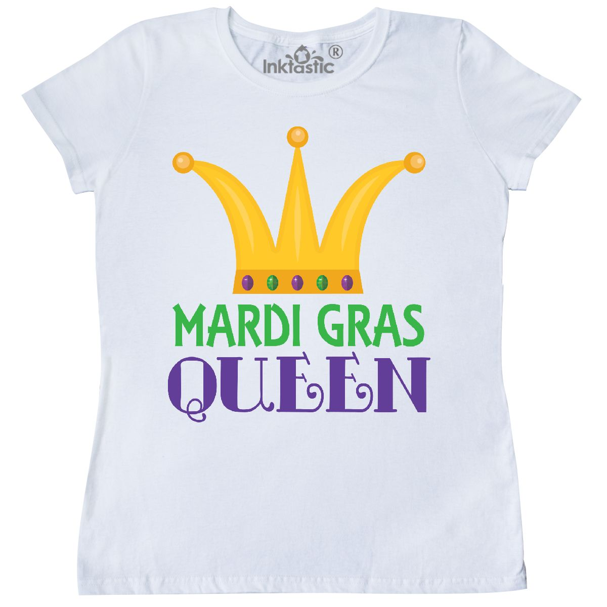 Unisex Clothing Inktastic Mardi Gras Masks 2019 Party Youth T-shirt Holiday Comedy Tragedy Cute