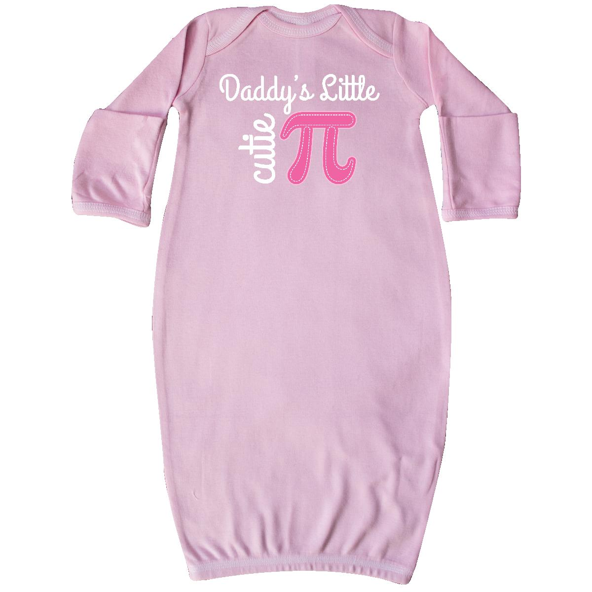 Inktastic Daddy Little Cutie Pi Day Math Girls Newborn Layette ...