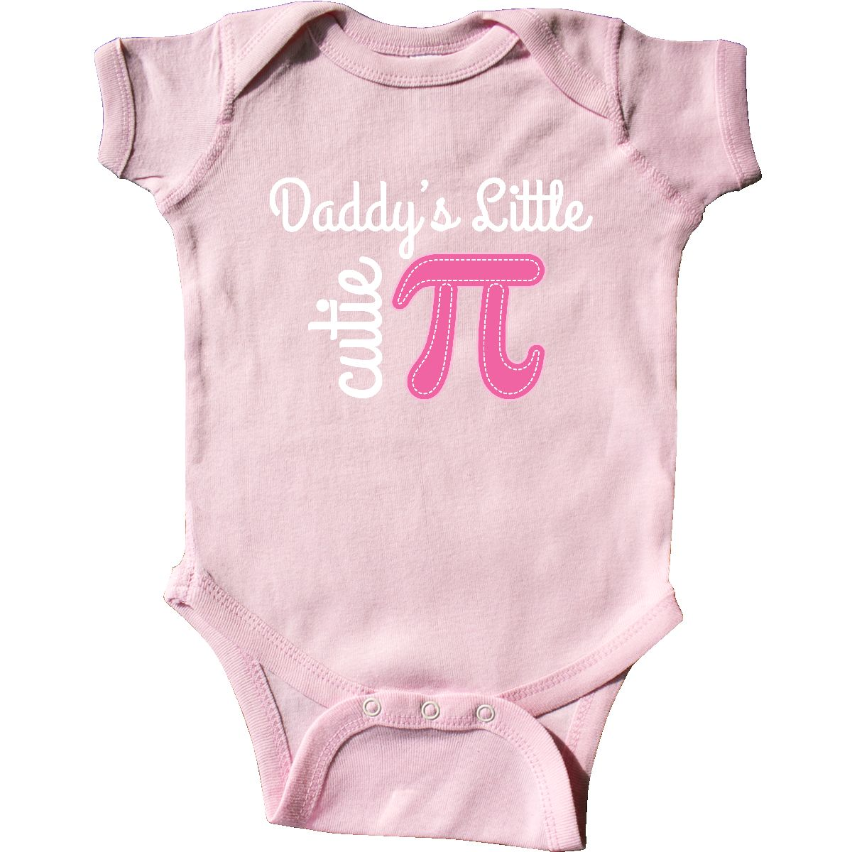 INKtastic Daddy Little Cutie Pi Day Math Girls Infant Creeper Daddys ...