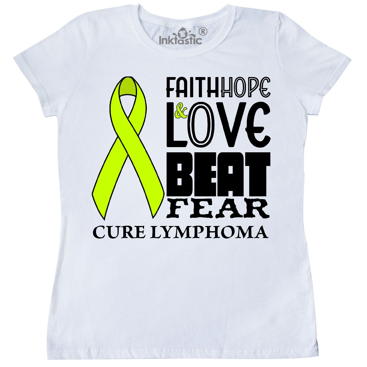 c4c9198d0 Image is loading Inktastic-Faith-Hope-And-Love-Beat-Fear-Cure-