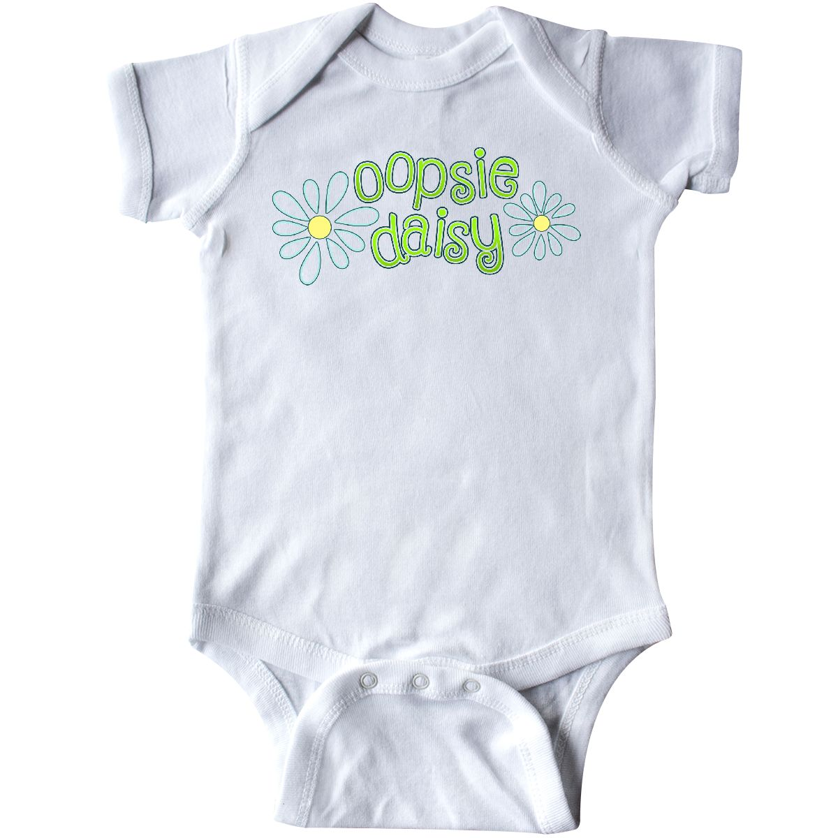 Inktastic Oopsie Daisy Infant Creeper Baby Little Learning Flower