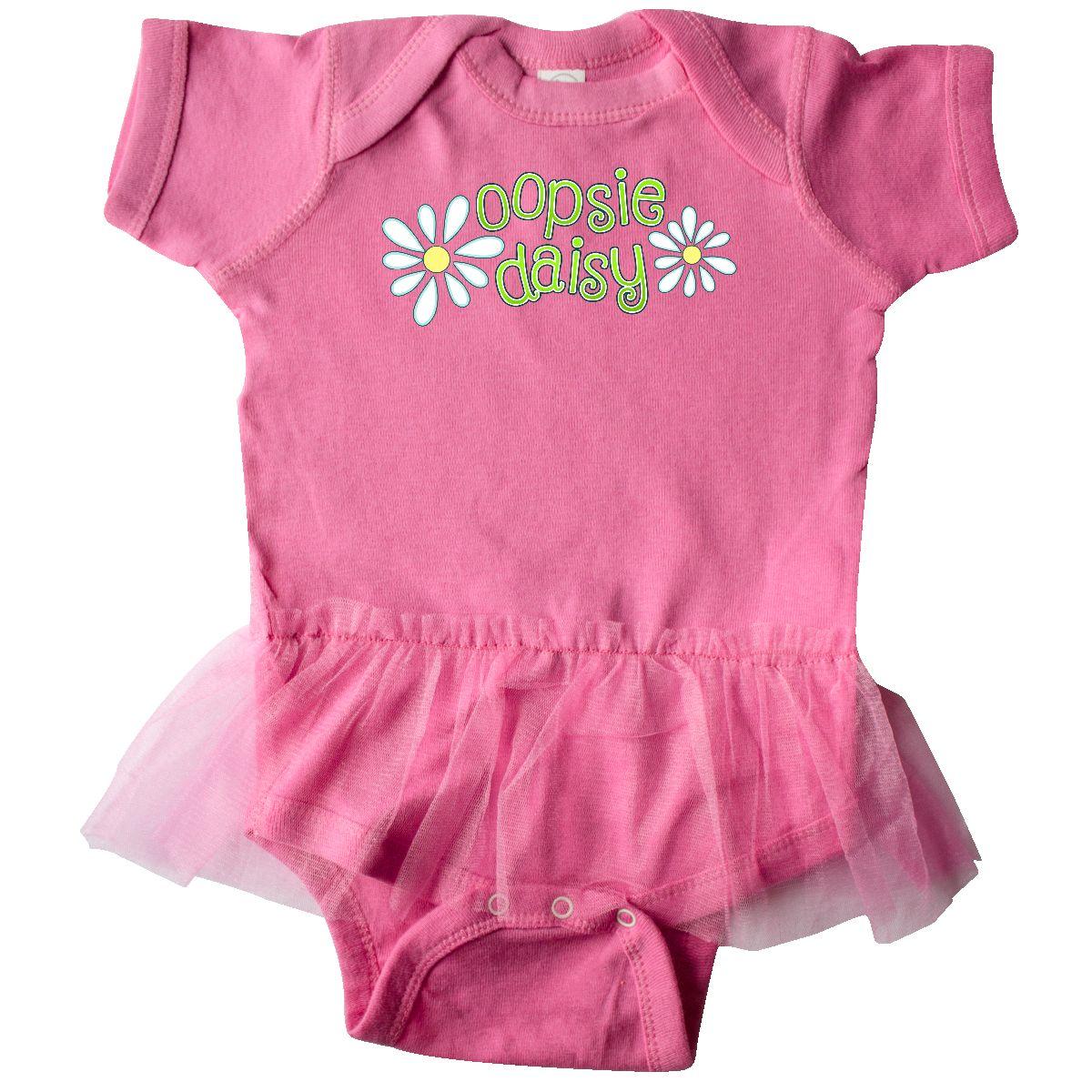 Inktastic Oopsie Daisy Infant Tutu Bodysuit Baby Little Learning