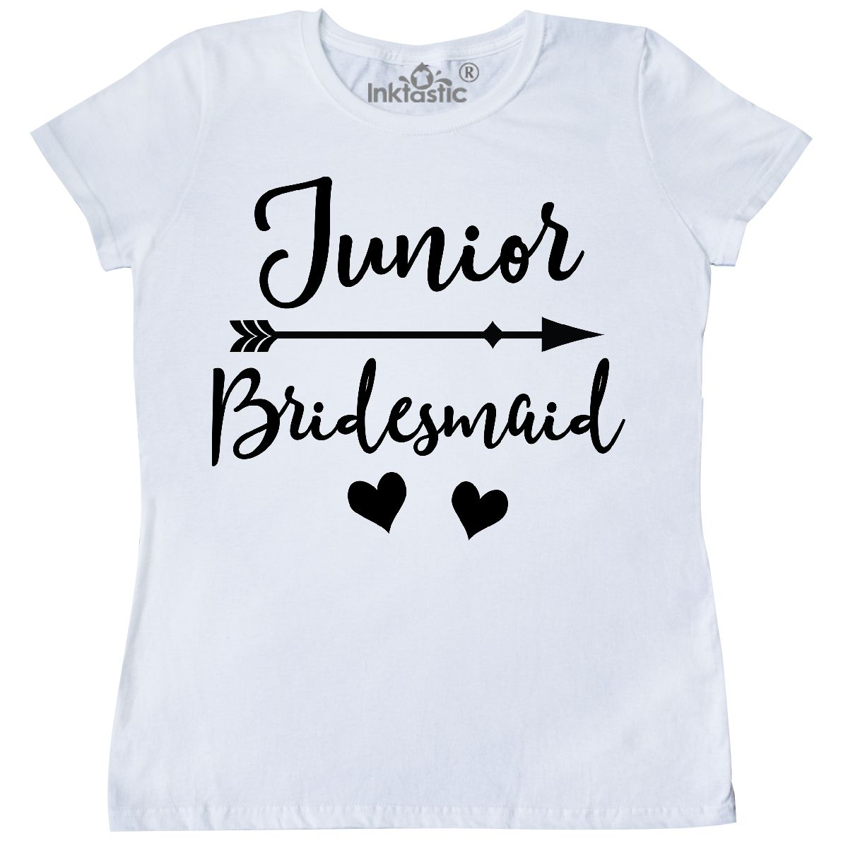 8ade5dc429abe Details about Inktastic Junior Bridesmaid Wedding Bridal Party Gift Women's  T-Shirt Cute Photo